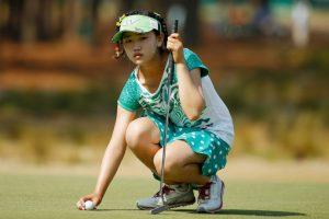 La estadounidense Lucy Li disputó el US Open, luego de ganar el Half Moon Bay a los 11 años Foto:Getty Images. Imagen Por: