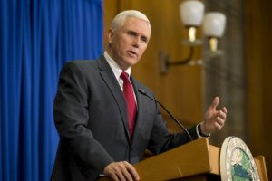 Mike Pence, gobernador de Indiana Foto: Getty Images. Imagen Por: