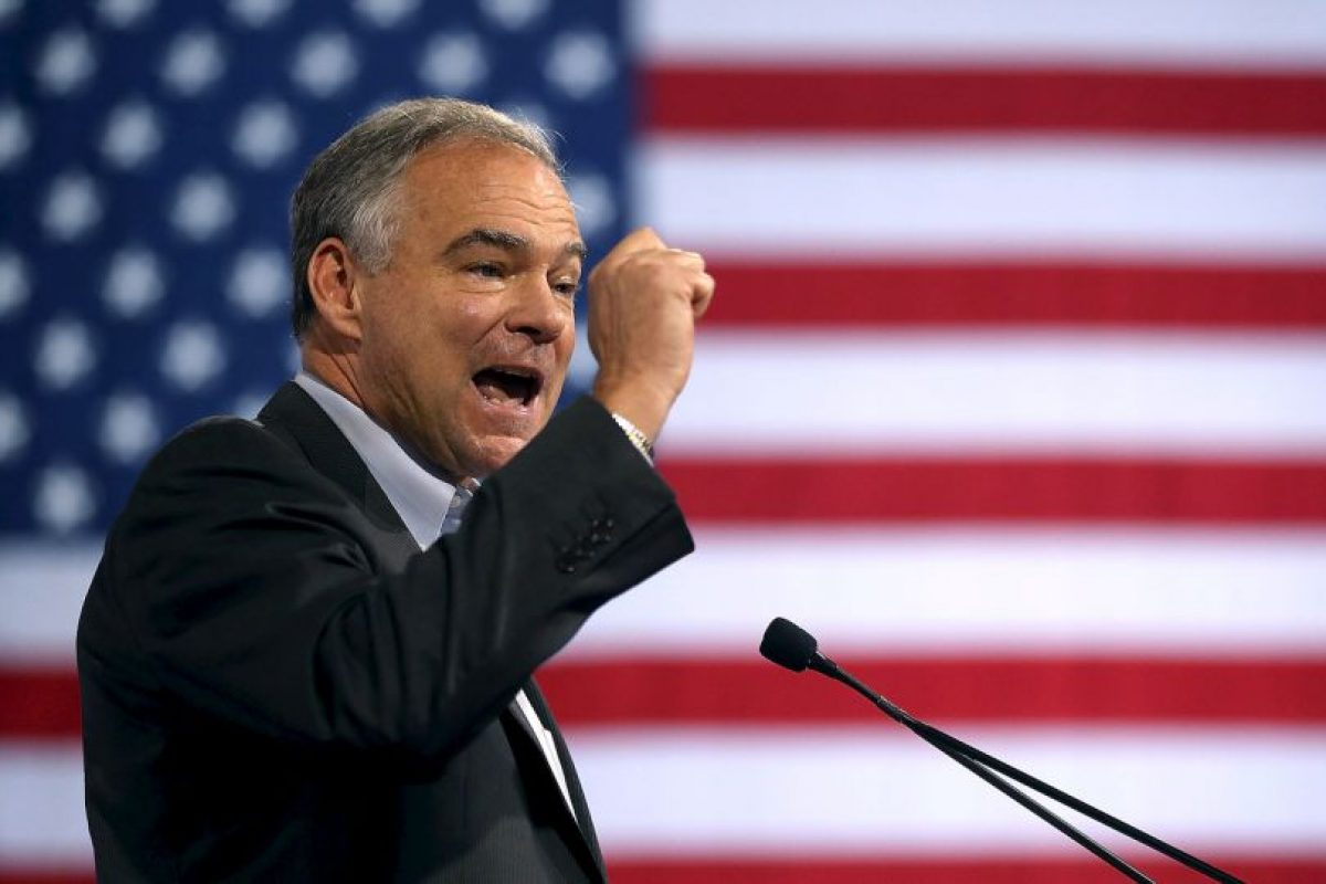 Tim Kaine, senador de Virgina Foto: Getty Images. Imagen Por: