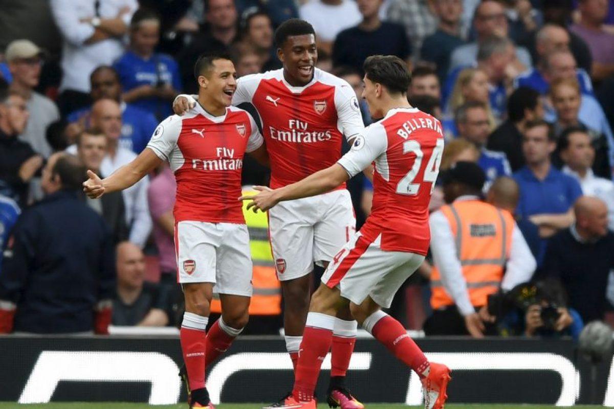 8.- Arsenal (381 Foto:Getty Images. Imagen Por: