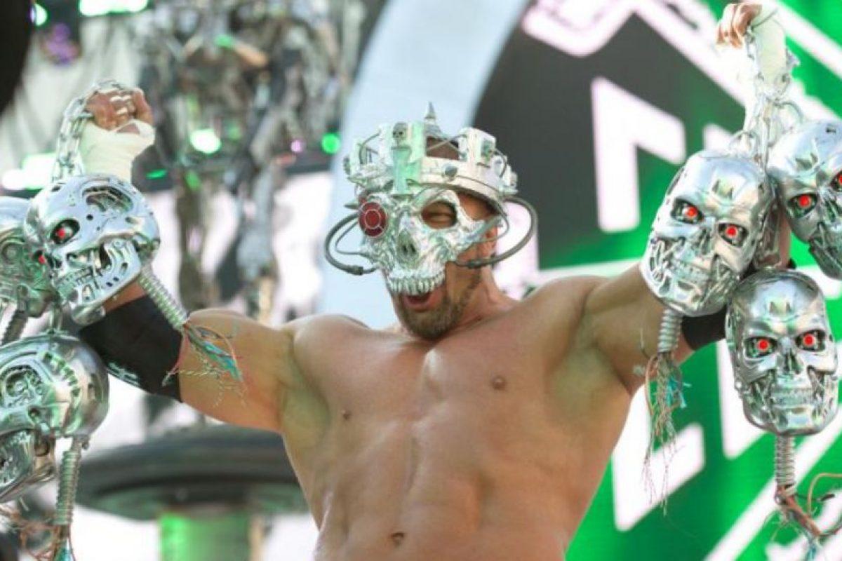 """""""El Rey de Reyes"""" – Triple H Foto:WWE. Imagen Por:"""