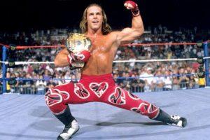"""""""El Chico rompecorazones"""" – Shawn Michaels Foto:WWE. Imagen Por:"""