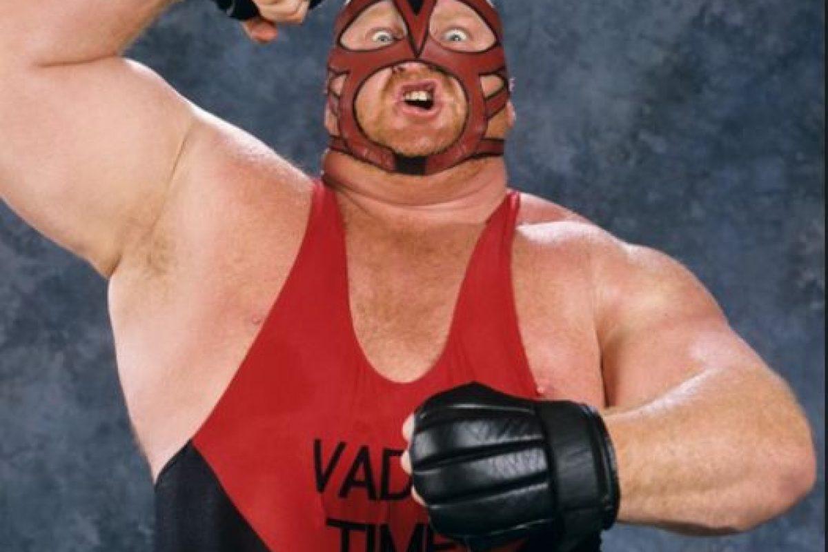 """""""El Mastodonte"""" -Vader Foto:WWE. Imagen Por:"""