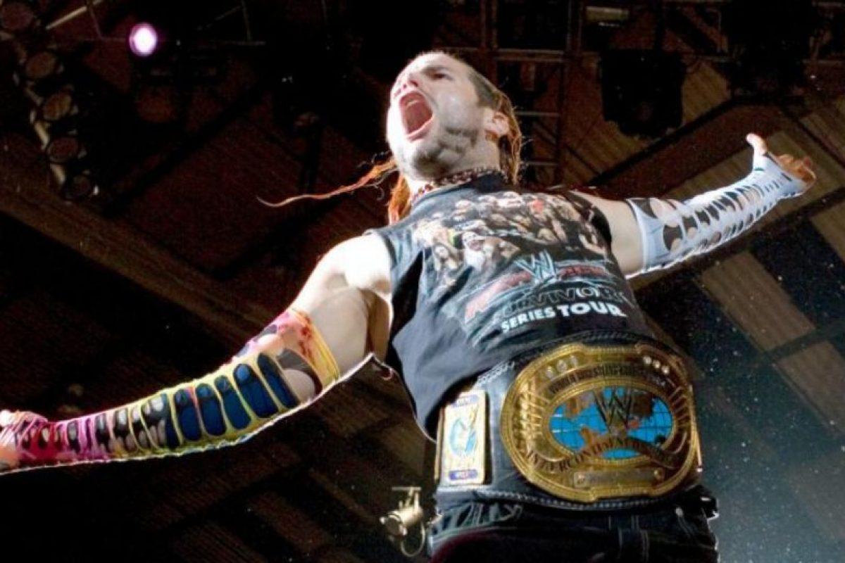"""""""El Enigma Carismático"""" – Jeff Hardy Foto:WWE. Imagen Por:"""