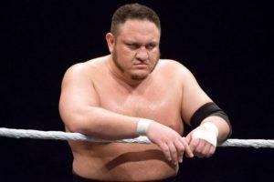 """""""La Máquina samoana de sometimientos"""" – Samoa Joe Foto:WWE. Imagen Por:"""