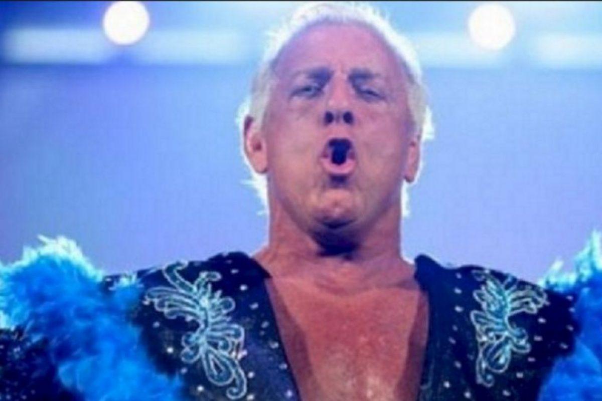 Se trata de Ric Flair Foto:WWE. Imagen Por: