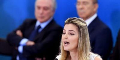 """Así fue """"el debut en sociedad"""" de la primera dama de Brasil Marcela Temer"""