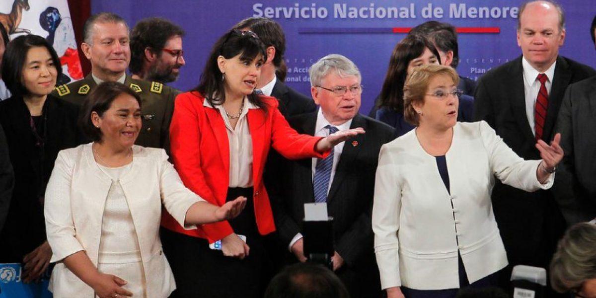 Ministra Blanco y nuevo plan de acción en el Sename: