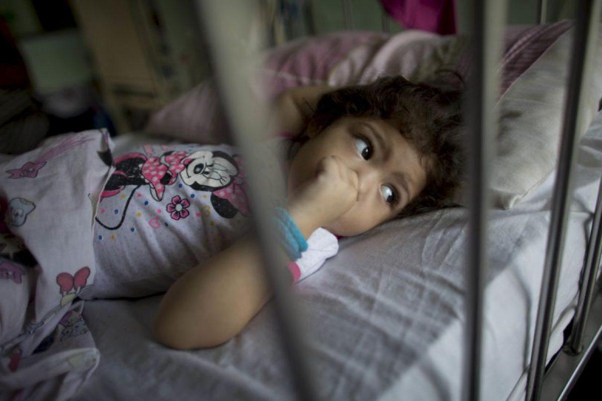 La niña de tres años estuvo a punto de morir Foto:AP. Imagen Por: