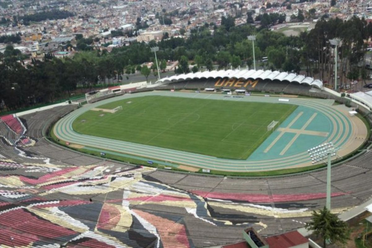 Actualmente lo utiliza el equipo de fútbol Potros de la UAEM, que hoy en día juega en la Liga del Ascenso. Foto:Facebook Potros UAEM. Imagen Por: