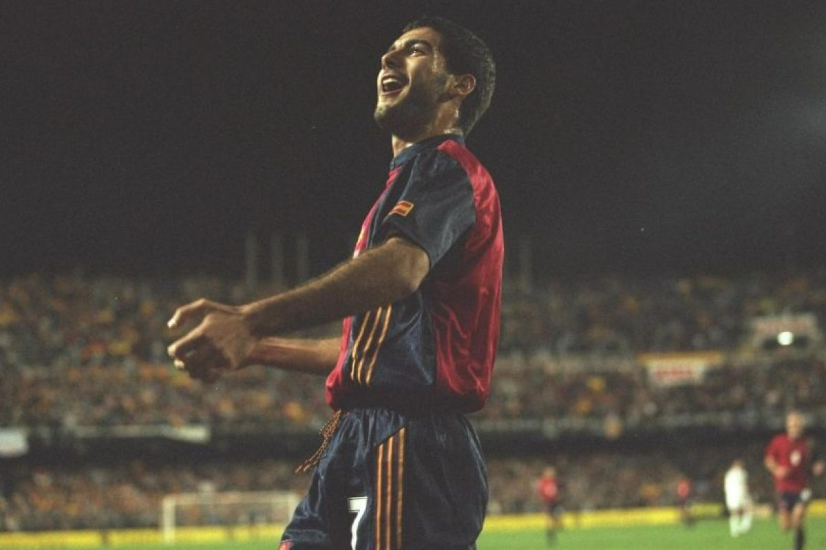 Pep Guardiola – volante de contención Foto:Getty Images. Imagen Por:
