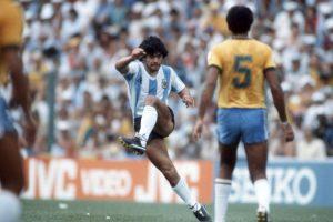 Diego Maradona – mediocampista de creación Foto:Getty Images. Imagen Por: