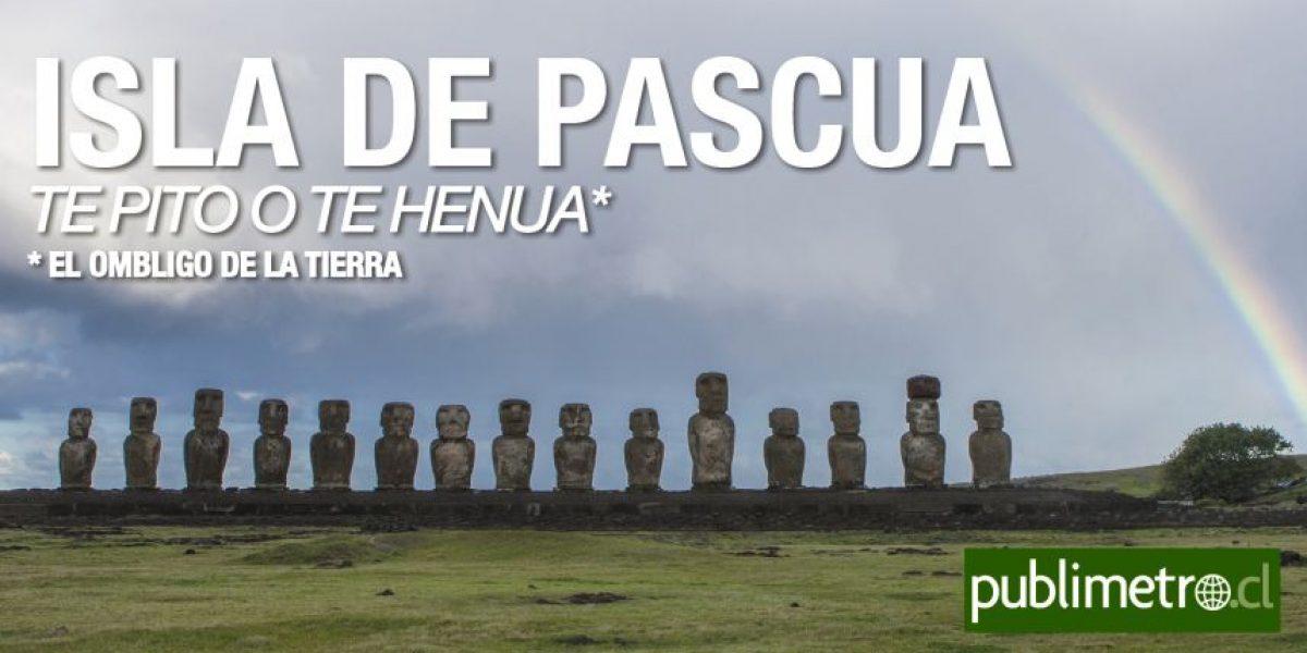 Infografía: Isla de Pascua, el ombligo de la tierra