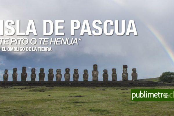 Infografía Isla De Pascua El Ombligo De La Tierra