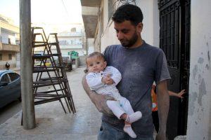 Yehya Maatouq es el padre de Wahida Foto:AFP. Imagen Por: