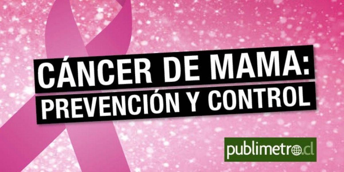 Infografía: cáncer de mama, prevención y control