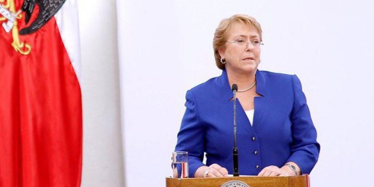 Adimark: Bachelet alcanza la aprobación más alta desde junio y llega a un 23%