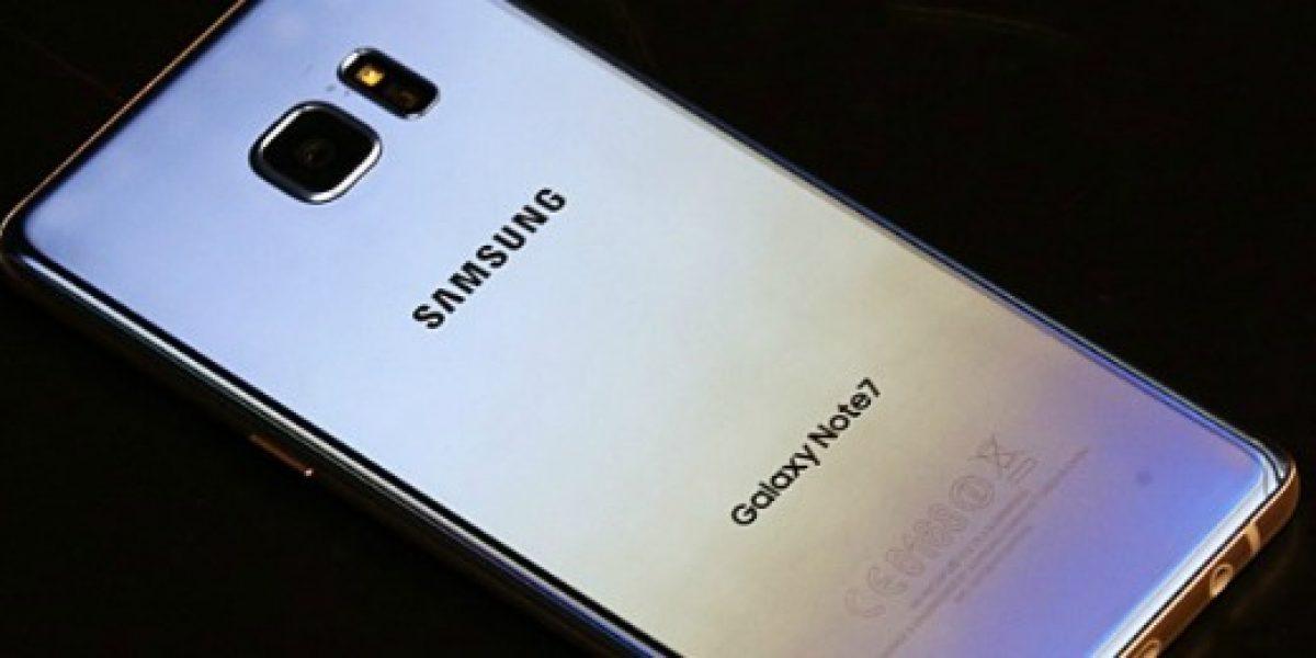 Nuevo caso: Samsung examinará Galaxy Note 7 incendiado en un avión de EEUU