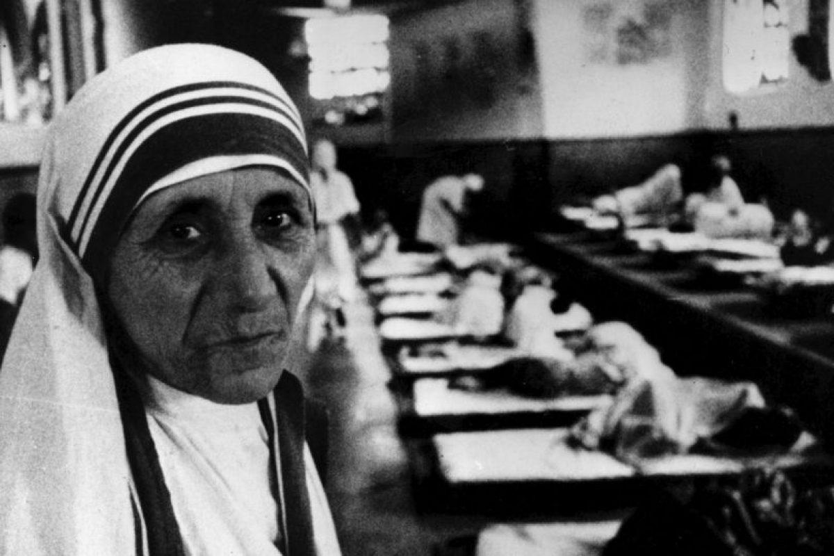 3. Madre Teresa de Calcuta Foto:Getty Images. Imagen Por: