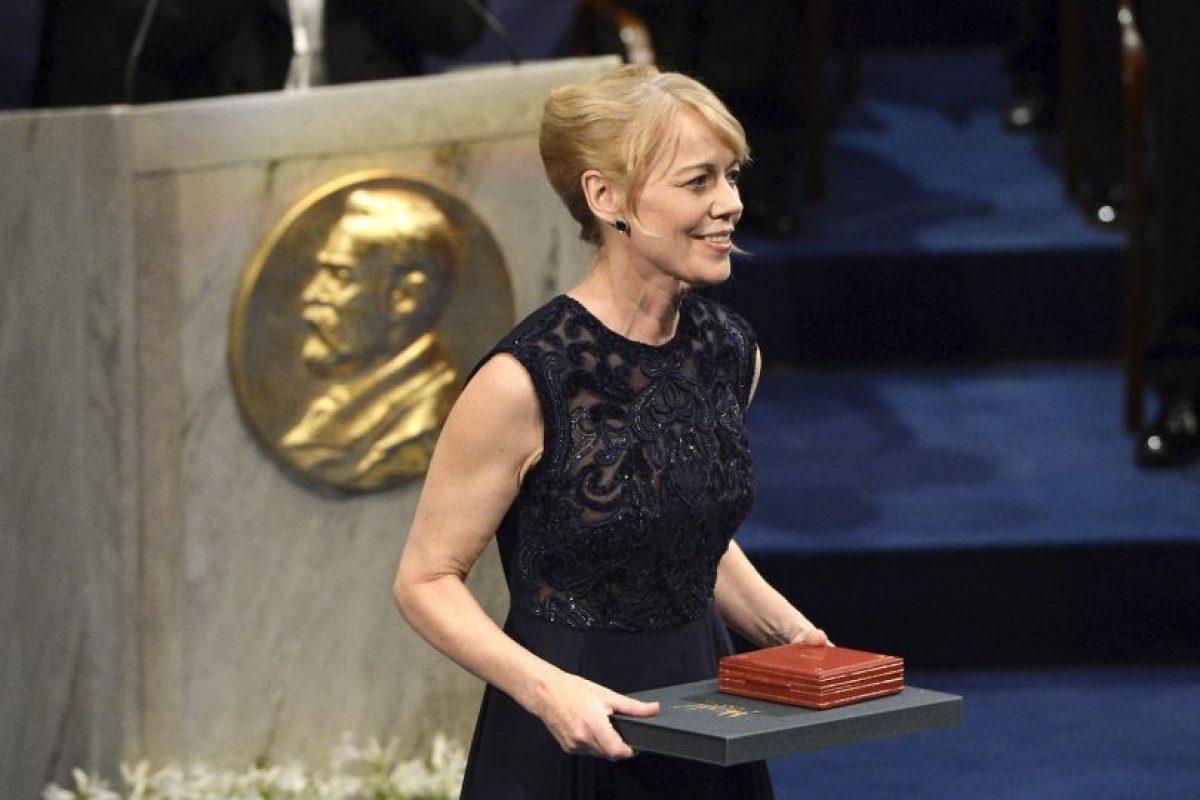 Alice Munro, Premio Nobel de Literatura en 2013 Foto:Getty Images. Imagen Por: