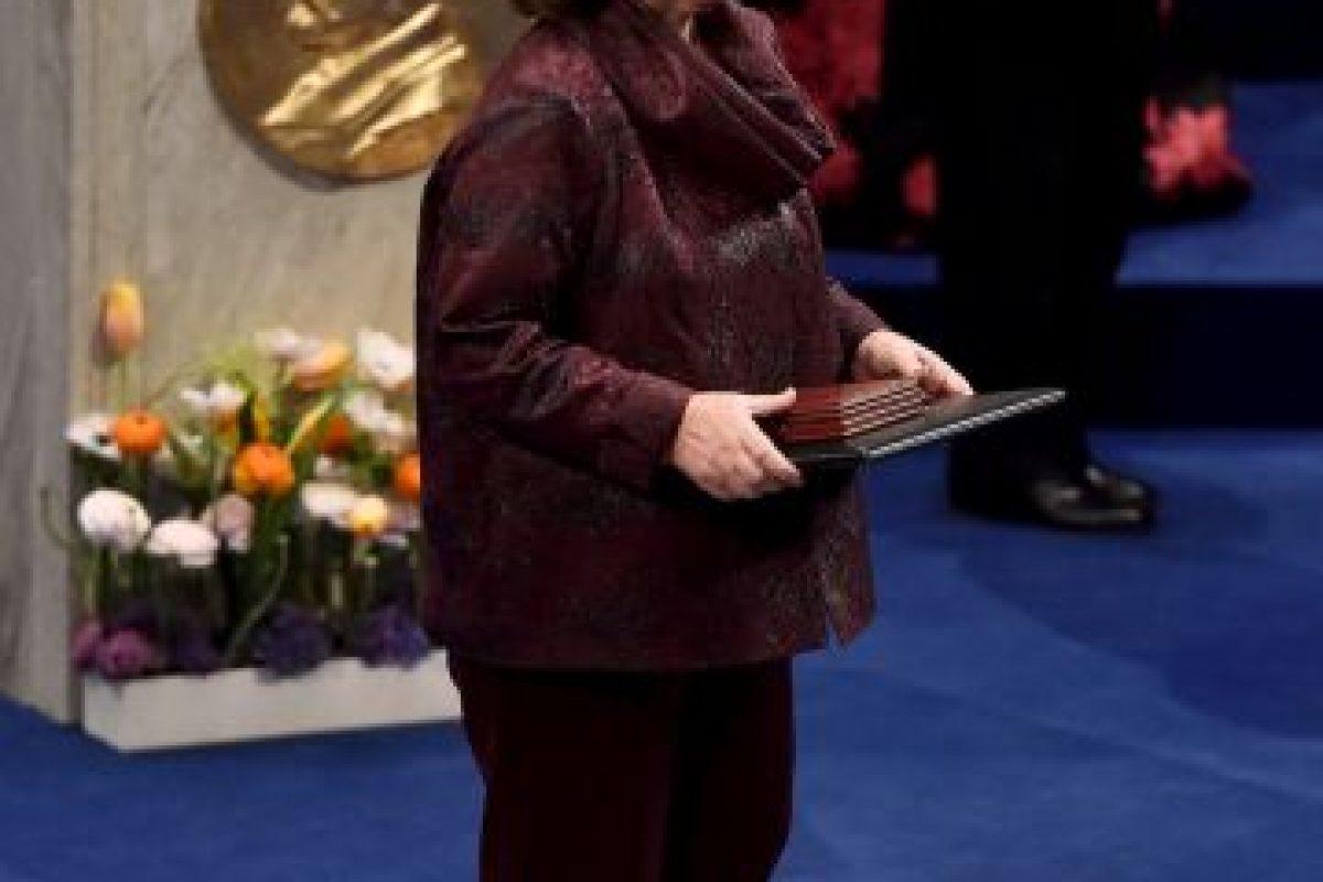Svetlana Alexievich, Nobel de Literatura en 2015 Foto:Getty Images. Imagen Por: