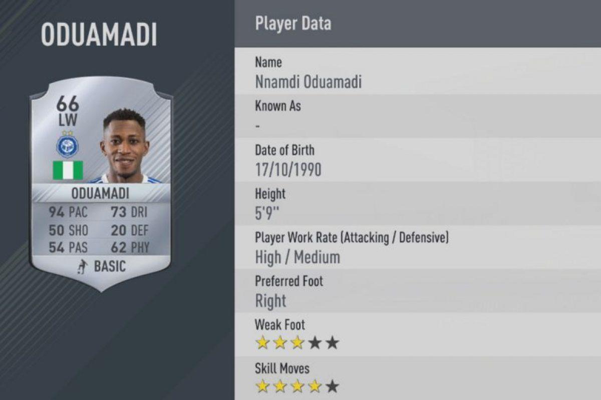 11.-Nnamdi Oduamadi–HJK Helsinki (94) Foto:EA Sports. Imagen Por: