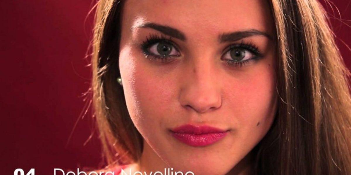 Debora Novellino, la futbolista que se coronó Miss Italia