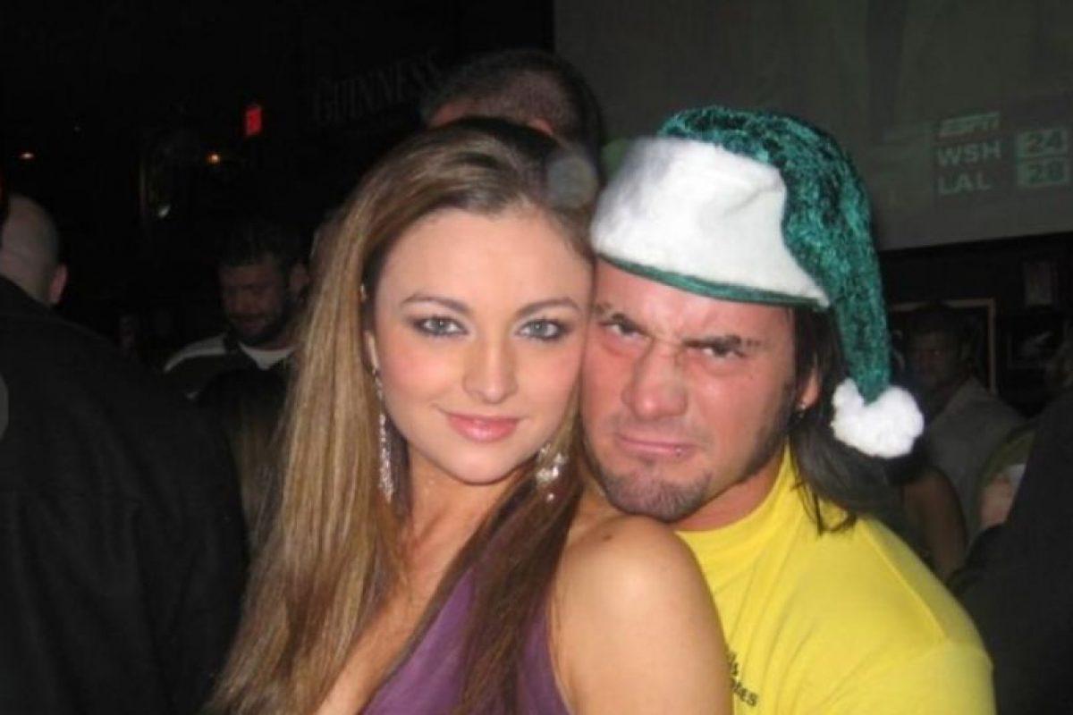 Punk tuvo una relación de 2005 a 2008 con Maria Foto:WWE. Imagen Por: