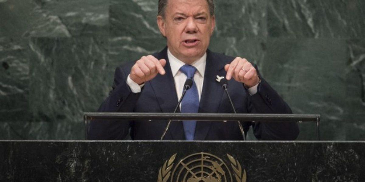 Presidente de Colombia Juan Manuel Santos gana el premio Nobel de la Paz