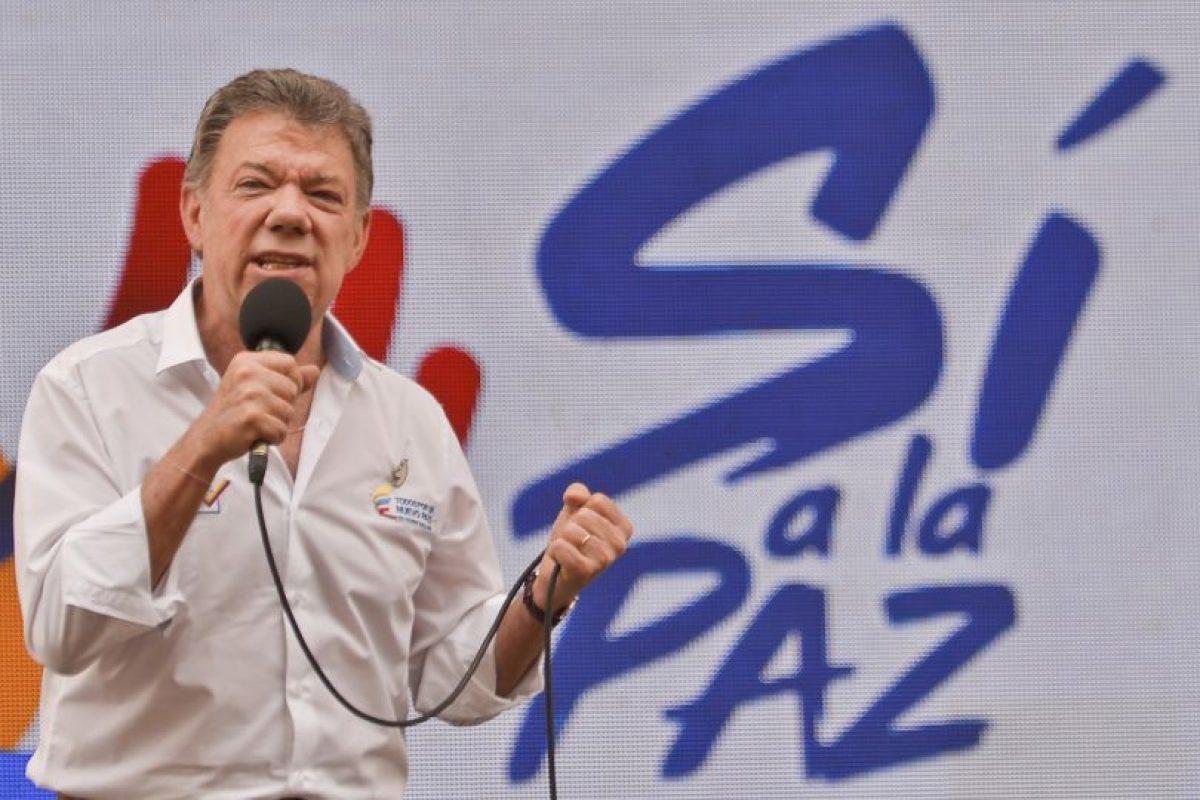 Juan Manuel Santos es el segundo colombiano en ganar un Premio Nobel Foto:AFP. Imagen Por: