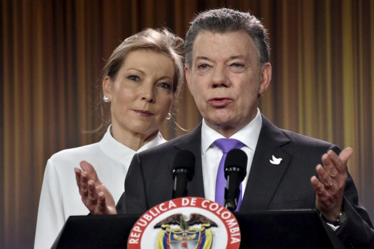 Así vivió Colombia el galardón para Juan Manuel Santos Foto:AFP. Imagen Por: