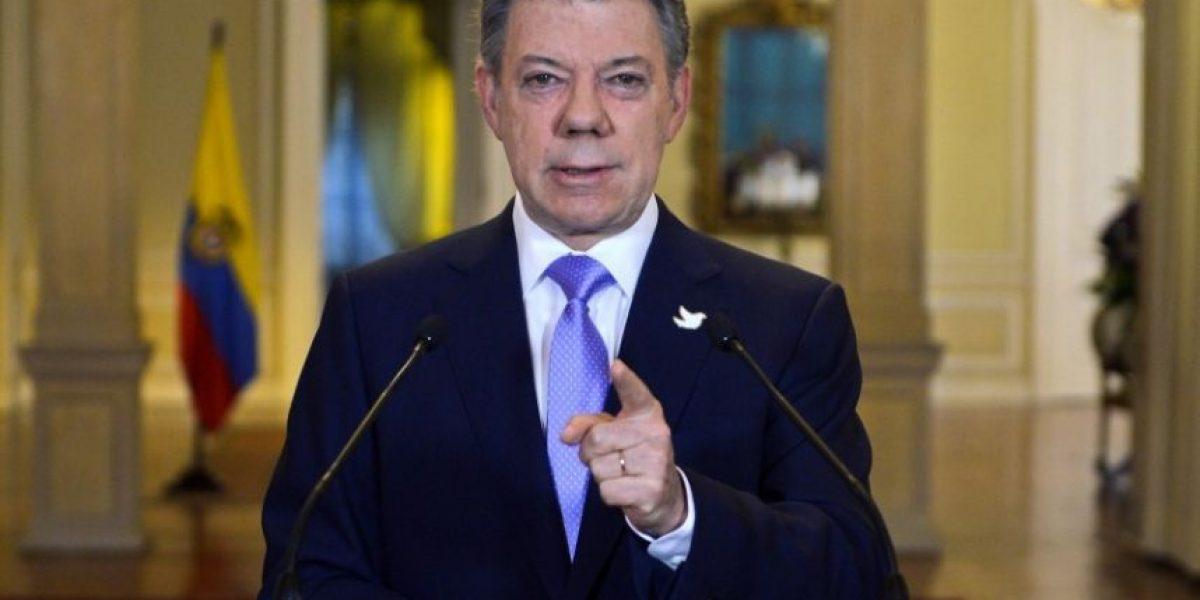 Presidente Santos dedica premio Nobel de la Paz
