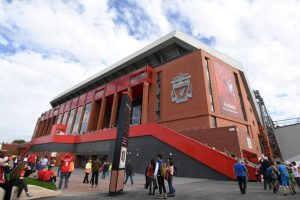 8.Liverpool – Anfield (75 millones) Foto:Getty Images. Imagen Por: