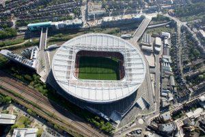 1.Arsenal – Emirates Stadium (132 millones de euros) Foto:Getty Images. Imagen Por: