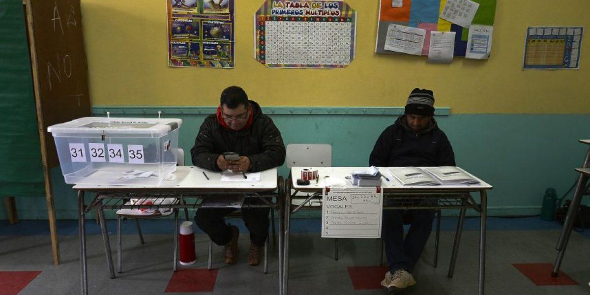 Servel publica lista final de vocales de mesa para elecciones municipales