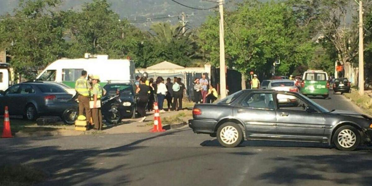 Un menor de 15 años falleció tras choque en La Florida