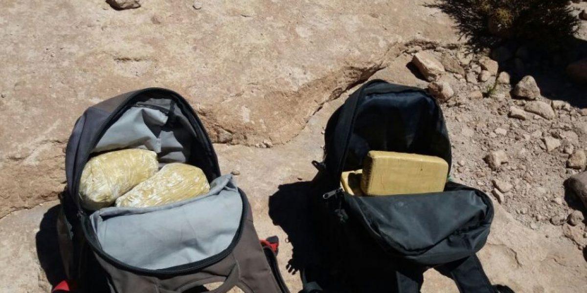 0S-7 detiene a dos burreros que trasladaban más de 62 mil dosis de droga
