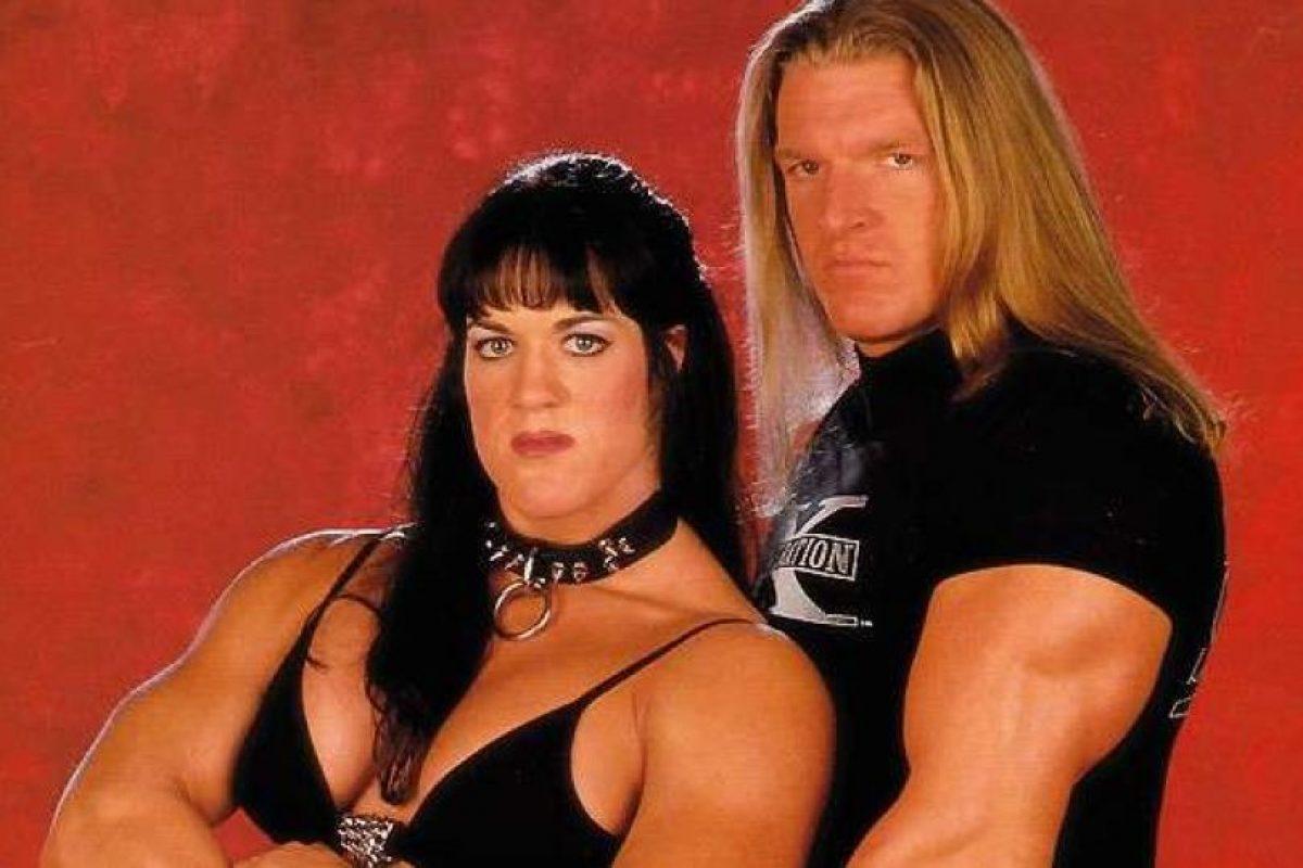 """Chyna mantuvo un romance con Triple H. Pero después """"El Juego"""" comenzó una relación secreta con Stephanie McMahon. Hasta que decidió terminar con la ahora difunta para formalizar su compromiso con la """"Princesa"""". Foto:WWE. Imagen Por:"""