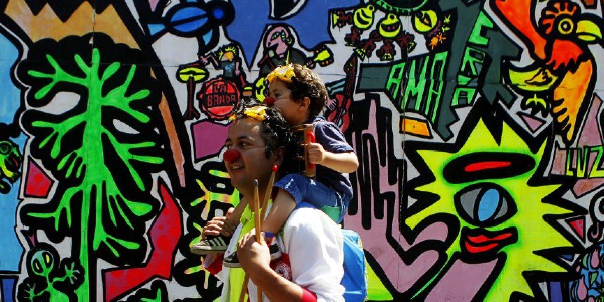 Las imágenes de la marcha nacional por los derechos de la infancia