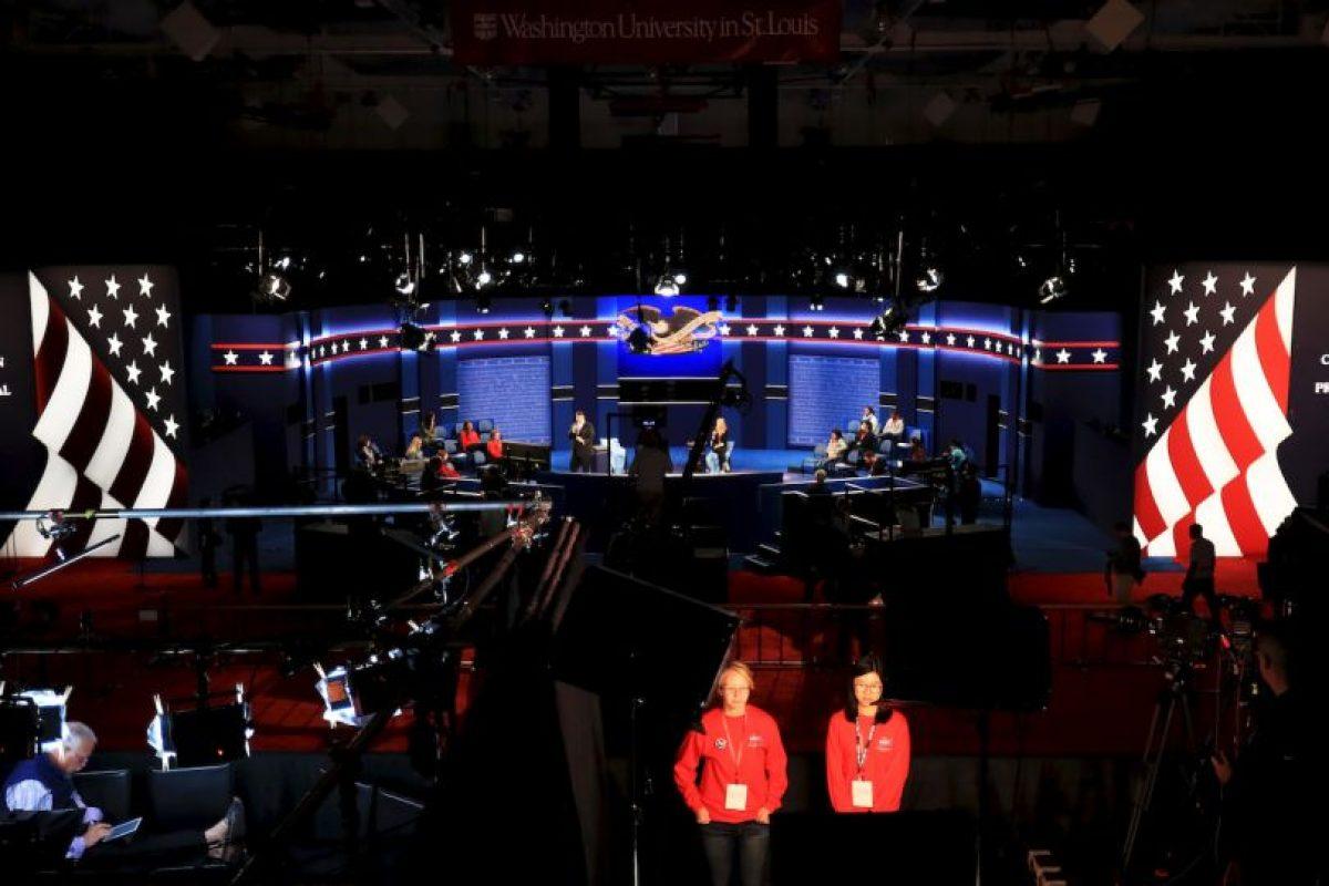 """El debate tendrá el formato de """"Town Hall""""; la mitad de las preguntas las hará el público Foto:Getty Images. Imagen Por:"""