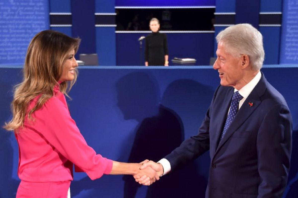 Ambos candidatos se volverán a enfrentar el 19 de octubre, en el último debate Foto:AFP. Imagen Por: