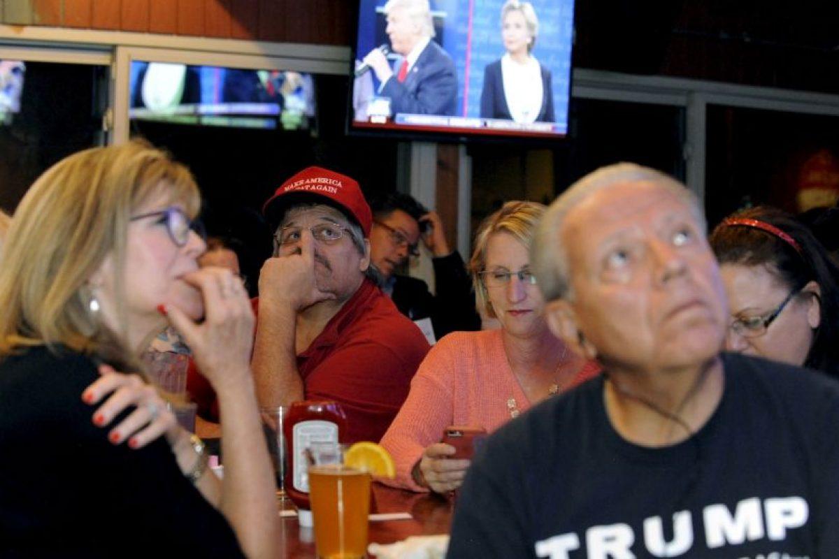 Durante el día se darán a conocer cuántas personas vieron el debate, aunque se estima que no rompió el récord de los 84 millones de personas del primer debate Foto:AFP. Imagen Por: