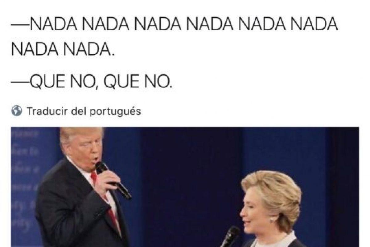 Trump y Hillary en un dueto Foto:Twitter.com. Imagen Por: