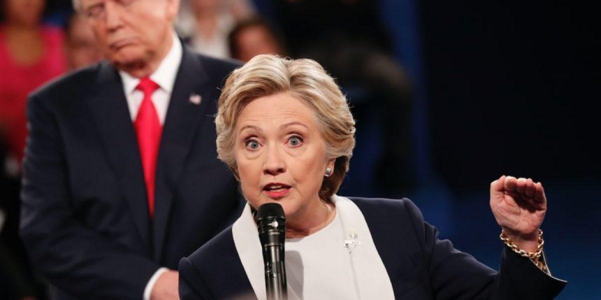 Los cinco mejores momentos del debate presidencial entre Clinton y Trump