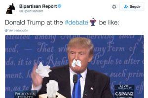 """Se burlaron del """"moqueo"""" de Donald Trump Foto:Twitter.com. Imagen Por:"""