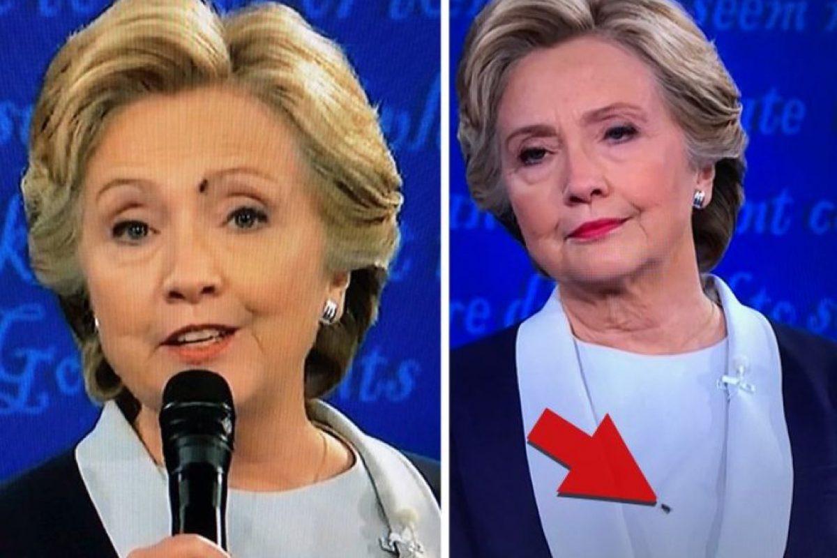 Aunque solamente fueron unos segundos, llamó la atención de las redes sociales Foto:Twitter.com. Imagen Por: