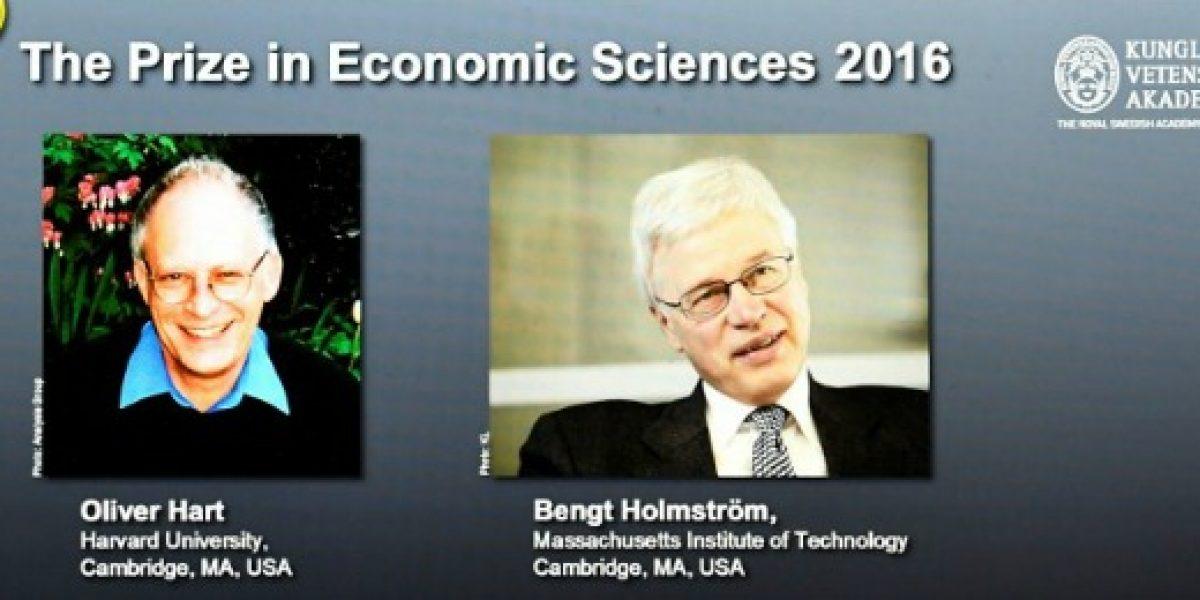 Un británico y un finlandés ganan premio Nobel de Economía