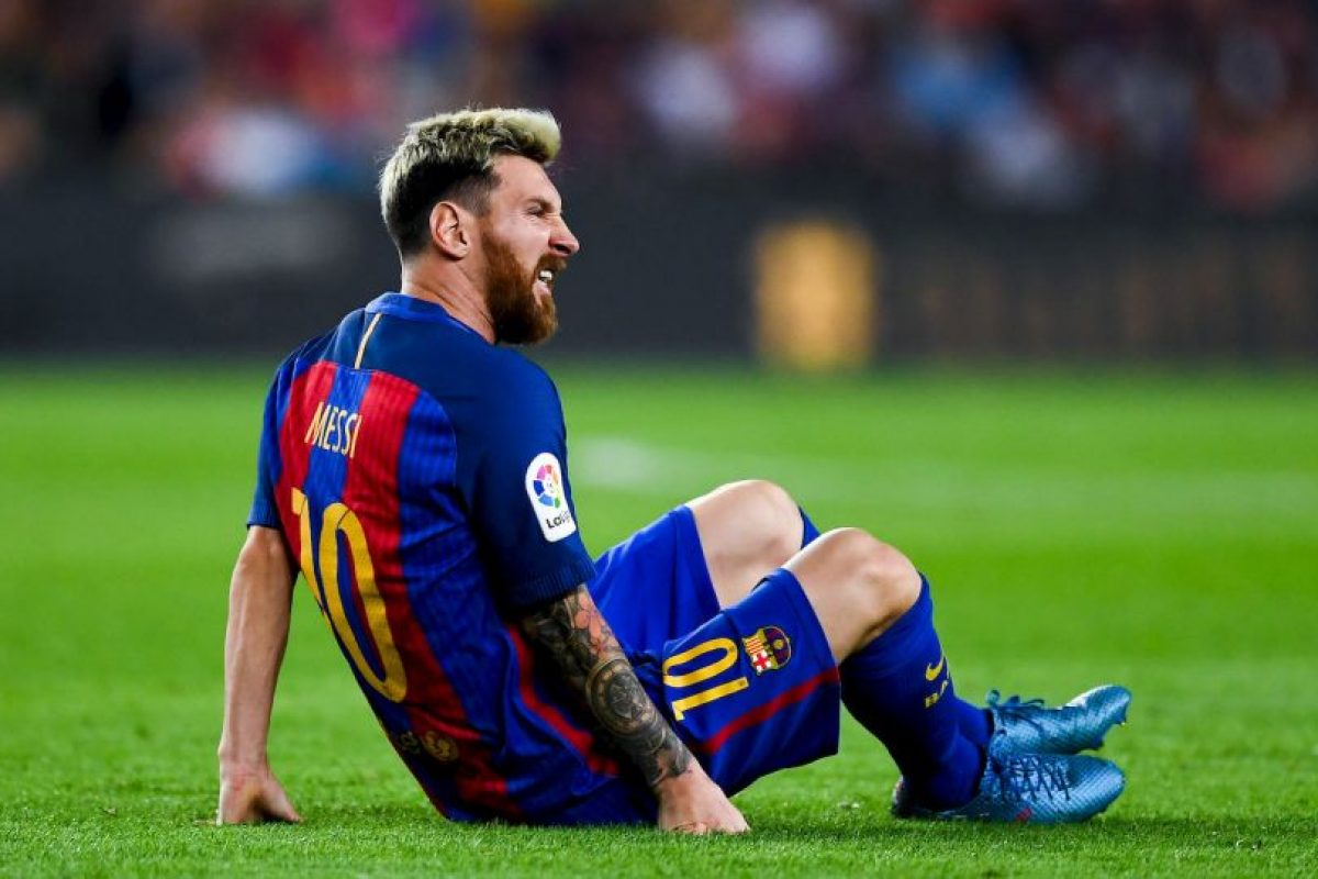 """La """"Pulga"""" volverá a tocar el balón 21 días de su lesión. Foto:Getty Images. Imagen Por:"""