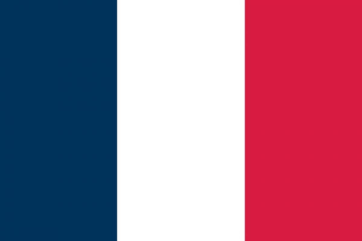 """Francia: """"Atendería solo a los estímulos cromáticos. Tres bandas idénticas, azul, rojo y blanco, los colores primarios en toda su pureza. Sin necesidad de ningún signo de ninguna retórica emblemática o heráldica"""" Foto:Reproducción. Imagen Por:"""