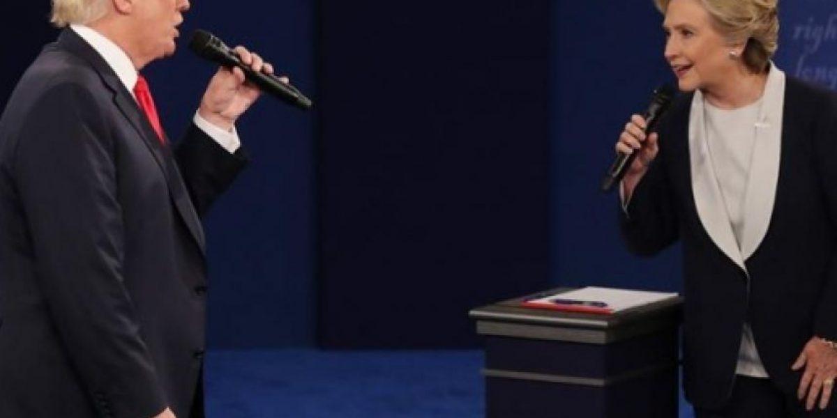 Lo que dicen las encuestas después del segundo debate entre Clinton y Trump